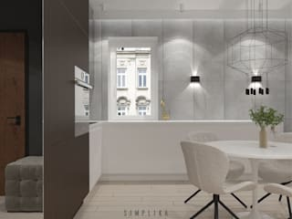 Minimalist kitchen by SIMPLIKA Minimalist