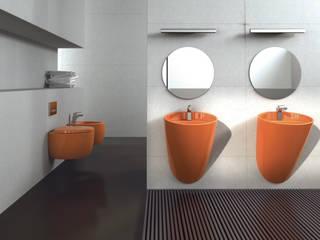 Kepez Yapı Market – Banyonun renkli dünyasına hoş geldiniz.: modern tarz Banyo