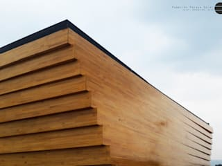 Horizontal Arquitectos Exhibition centres Wood Wood effect