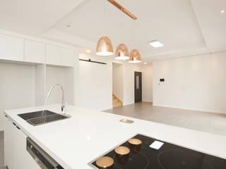 인우건축사사무소 Moderne Küchen