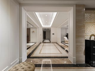 長廊過道:  走廊 & 玄關 by 漢品室內設計