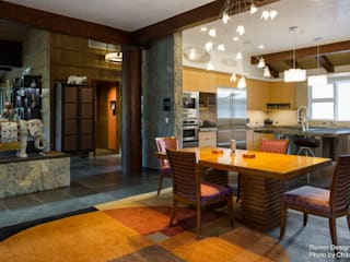 Ruang Makan Modern Oleh Chibi Moku Modern