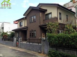 日式木結構-客製化設計 根據 詮鴻國際住宅股份有限公司 北歐風