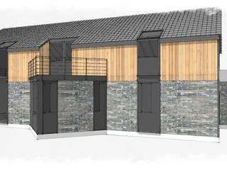 Nowy koncept budynku zakończony, pracujemy nad wnętrzami od Arch. Wnętrz Janusz Kościołowski Nowoczesny
