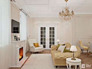 Living room by GM-interior, Classic