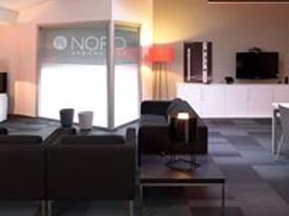 Modern Media Room by NORD ARBONA PIZÀ Modern