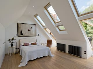 Hampstead Penthouse Minimalist bedroom by DDWH Architects Minimalist