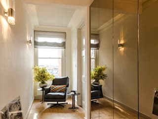 Penthouse Apartment Chelsea Modern corridor, hallway & stairs by Studio 29 Architects ltd Modern