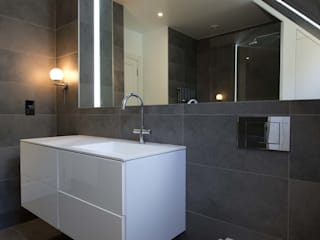 Hampstead Penthouse DDWH Architects Minimalist style bathrooms