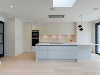 North London house refurbishment 現代廚房設計點子、靈感&圖片 根據 DDWH Architects 現代風