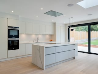 North London house refurbishment Cocinas de estilo moderno de DDWH Architects Moderno
