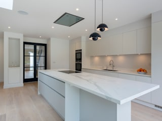 North London house refurbishment Dapur Modern Oleh DDWH Architects Modern