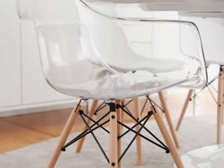 Branco Minimal:   por Casas com design,Minimalista