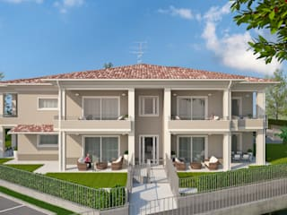 Houses by 2P COSTRUZIONI srl,