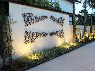 Jardines de estilo moderno de Luiz Coelho Arquitetura Moderno