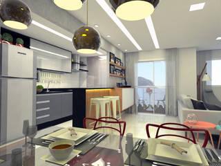 Ruang Makan oleh Luiz Coelho Arquitetura