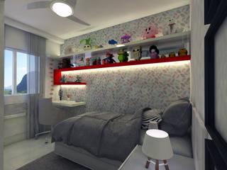 Kamar Tidur oleh Luiz Coelho Arquitetura