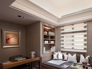 Dormitorios de estilo  de 大觀室內設計工程有限公司, Clásico