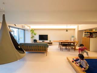 子どもの小上がりがある家 すくすくリノベーションvol.9 オリジナルデザインの リビング の 株式会社エキップ オリジナル