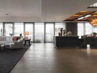松江會所:  商業空間 by 大觀室內設計工程有限公司