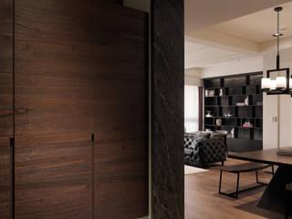 偶像劇場景再現 人文時尚空間 經典風格的走廊,走廊和樓梯 根據 星葉室內裝修有限公司 古典風