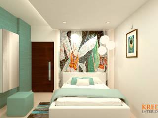 Kredenza Interior Studios Modern style bedroom