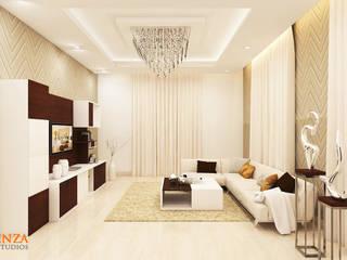 Living Room Kredenza Interior Studios Modern Living Room