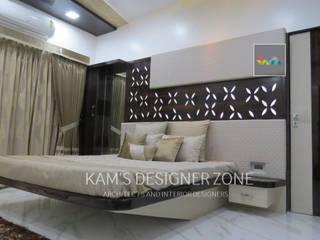 Home interior design for Mr. Aji John Modern style bedroom by KAM'S DESIGNER ZONE Modern