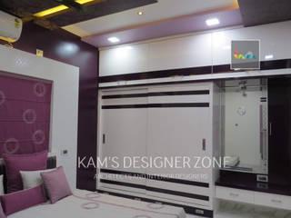 Home interior design for Mr. Aji John Modern walls & floors by KAM'S DESIGNER ZONE Modern