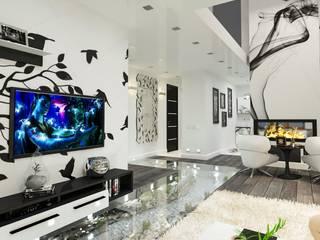 Архитектурное бюро Сириус — проект для дома ТехноНИКОЛЬ: Гостиная в . Автор – Open Village