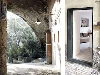 CASA PRIVATA 03 - ristrutturazione d'interni: Ingresso & Corridoio in stile  di 81millimetri
