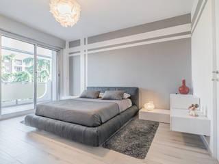 Chambre minimaliste par Facile Ristrutturare Minimaliste