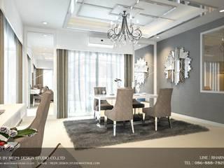 บ้านเดี่ยว 2 ชั้น ม.grand village อ่อนนุช 65อ่อนนุช 65 (85 ตร.ม.):   by ME29 Design Studio Co.,Ltd.