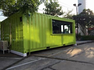 coffee cafe at เกษตร-นวมินทร์ โดย The Container Thailand