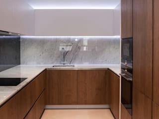 Newly Completed Installation - Exceptional Design PTC Kitchens Cucina minimalista