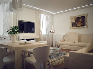 living room:  in stile  di ReDome