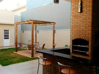 Jardines de estilo  por Fávero Arquitetura + Interiores