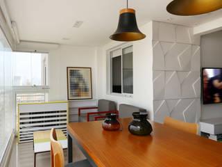 Apartamento Tatuapé - SP: Terraços  por Antonio Armando Arquitetura & Design