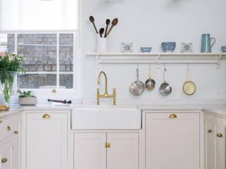 The SW1 Kitchen by deVOL deVOL Kitchens Classic style kitchen Wood Beige