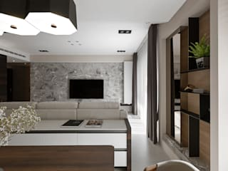 Salon original par 賀澤室內設計 HOZO_interior_design Éclectique