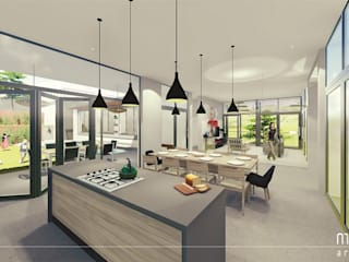 Muse Architects Dapur Modern