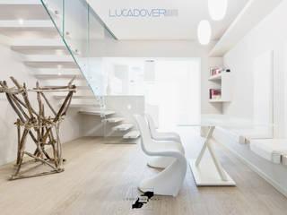 Luca Doveri Architetto - Studio di Architettura Living room Grey