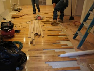 Wooden Floor Repair:   by Carpenter Cape Town