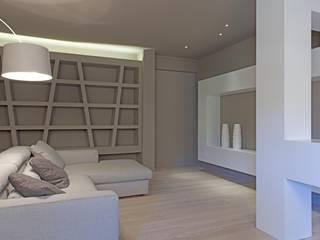 Luca Doveri Architetto - Studio di Architettura Living room Brown