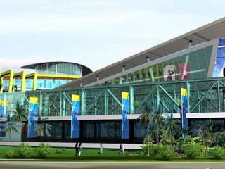 購物中心開發案 建築規劃與設計:  購物中心 by 馬瑞聰建築師事務所