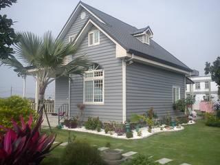 Casas de estilo rural de 晶莊工程有限公司 Rural