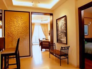 Corridor & hallway by stonehenge designs