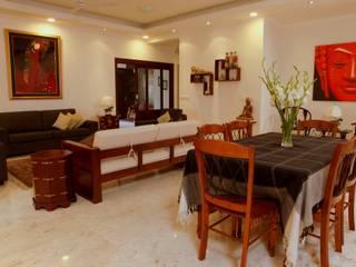 modern Dining room by stonehenge designs