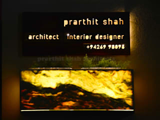 prarthit shah architects Study/officeAccessories & decoration