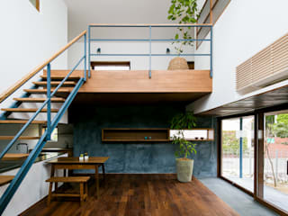Salas de estilo escandinavo de group-scoop architectural design studio Escandinavo